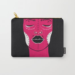 Perfecting is Erasing Carry-All Pouch