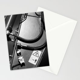 Arm of Power Industrial Hydraulic Digger System Stationery Cards