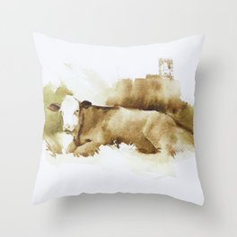 Ciao Vaca! Throw Pillow