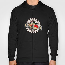 salt flats tank car Hoody