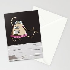 On the moon 2 Stationery Cards
