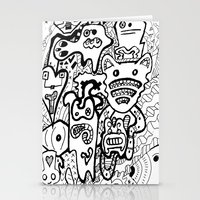 my mad fat diary Stationery Cards featuring Mad Creativity by Frank's Mad