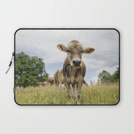 Brown Swiss Heifer Laptop Sleeve