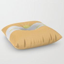 """ Orange days "" Floor Pillow"