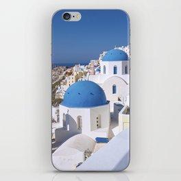 Oia Village in Santorini iPhone Skin