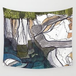 The Swimmin' Hole Wall Tapestry