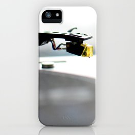 Play that record iPhone Case