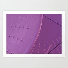 Violet Reflection Art Print