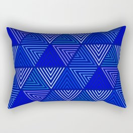 Op Art 129 Rectangular Pillow
