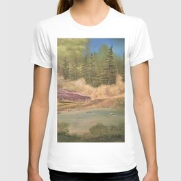 Sleeping rock - Summer day T-shirt