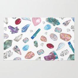 Watercolor Crystals Rug