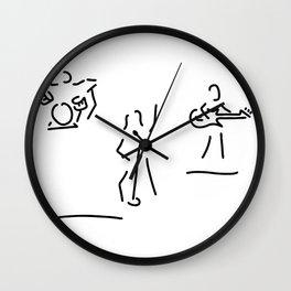 singer bound rock pop Wall Clock