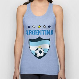 Argentina Soccer Jersey 2018 Argentina Soccer Unisex Tank Top