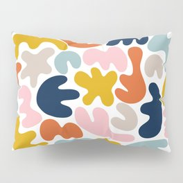 Blob Collage - Multi Pillow Sham