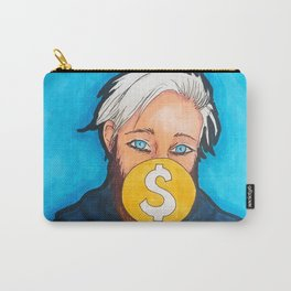 Blue Pewds Carry-All Pouch