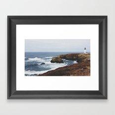 Yaquina Head Lighthouse Framed Art Print