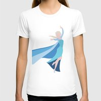 frozen elsa T-shirts featuring Frozen - Elsa by TracingHorses