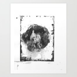 Monotype #7 Art Print