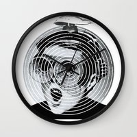 gamer Wall Clocks featuring anti gamer by KrisLeov