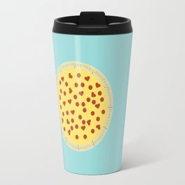 Pizza - My One True Love Travel Mug