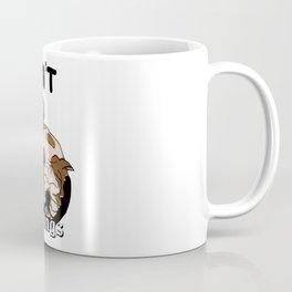 Don't do mornings,cute bulldog Coffee Mug
