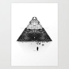 Darkside  Art Print