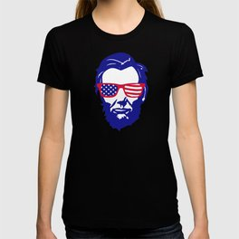 4th of July Lincoln T-shirt