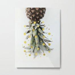 Tropical Holiday Metal Print