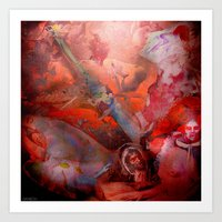 witchcraft Art Prints featuring Witchcraft by Joe Ganech