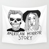 cactei Wall Tapestries featuring AHS by ☿ cactei ☿