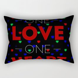 One Love Rectangular Pillow