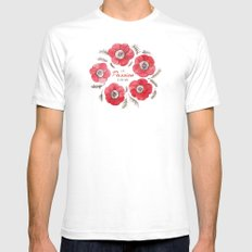 Poppy Passion: I See Passion In Your Work SMALL White Mens Fitted Tee