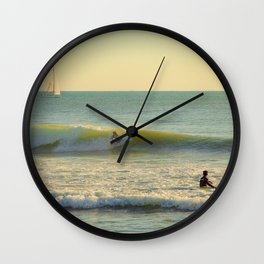 La Vague Wall Clock