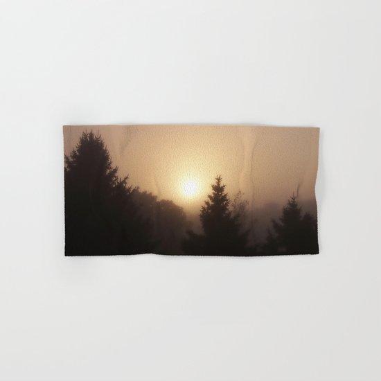 Sunrise Through Morning Fog Hand & Bath Towel