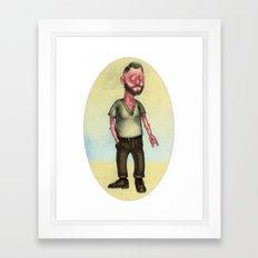 Il Malocchio Framed Art Print