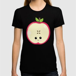 Kawaii Fruit Kawaii Apple Cute Cartoon Fruit T-shirt