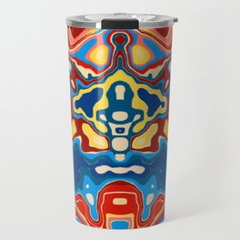 Biomorphic Primaries Travel Mug