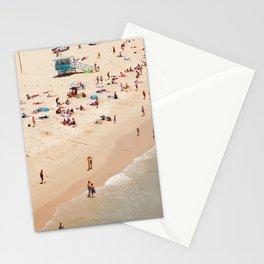 Santa Monica Beach People Stationery Cards