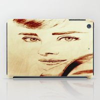 hepburn iPad Cases featuring Audrey Hepburn by Farinaz K.