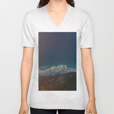 Mount Rainier Unisex V-Neck