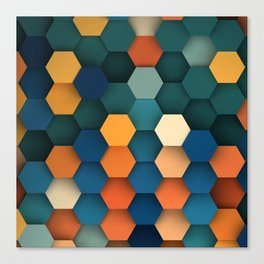 Hex Series #3 Canvas Print