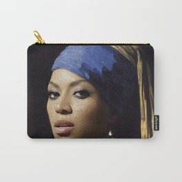 Bey with a Pearl Earring Carry-All Pouch