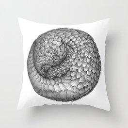 The Infinite Pangolin Throw Pillow