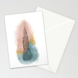 NYC Chryslerr Building Stationery Cards