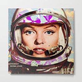 astronaut norma jeane Metal Print