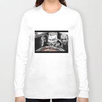 vikings Long Sleeve T-shirts featuring vikings by Flyens