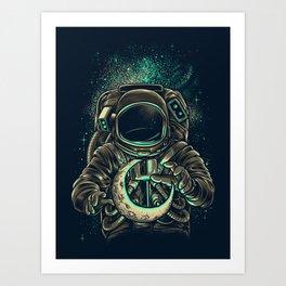 Moon Keeper Kunstdrucke