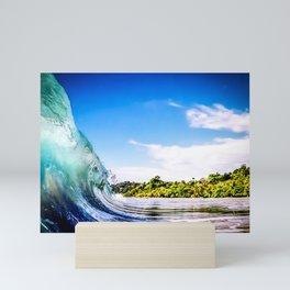 Tropical Wave Mini Art Print
