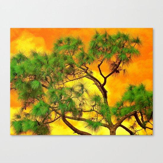 art-tificial Canvas Print