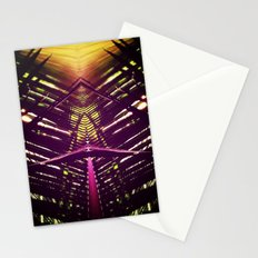 kaleidoscope palm Stationery Cards